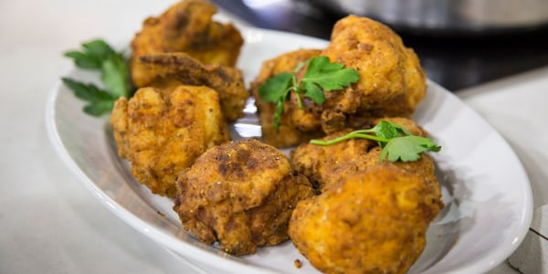 Sunny Anderson's Easy Buttermilk Poached and Fried Chicken