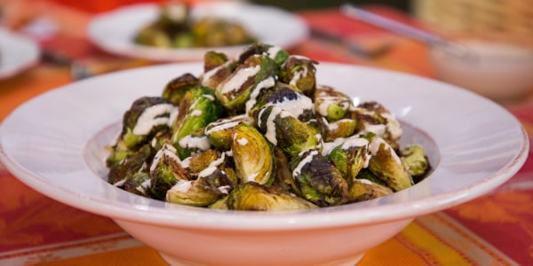 Brussels Sprouts with Caraway and Tahini