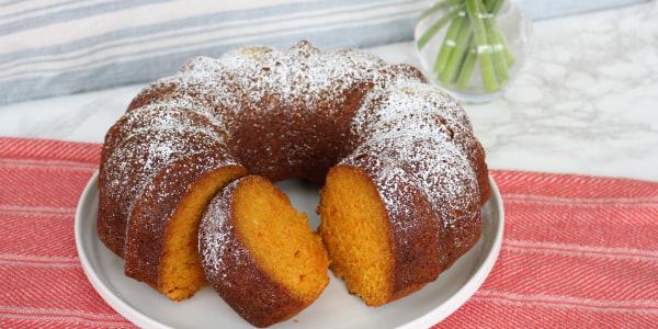 Carrot-Ginger Bundt Cake