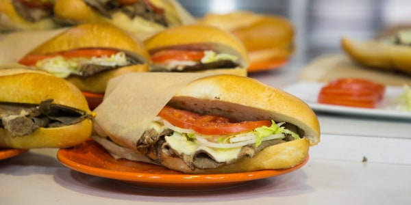 Italian-Style Philly Cheesesteak