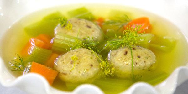 Chicken Fat Matzo Ball Soup