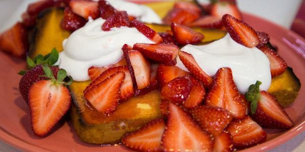 Sunny's Easy Toasted Strawberry Shortcakes