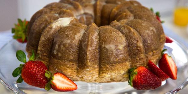 Wine-Glazed Cake
