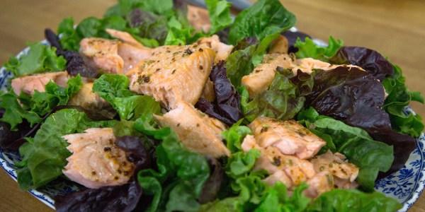 Nigella Lawson's Roast Salmon with Aleppo Pepper and Fennel Seeds
