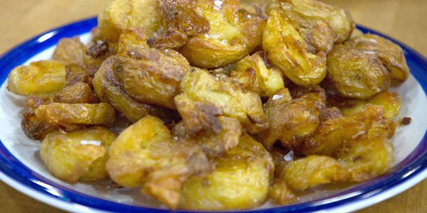 Nigella Lawson's Salt and Vinegar Potatoes