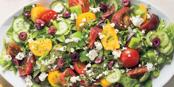 Natalie Morales' Classic Greek Salad (Horitatiki)