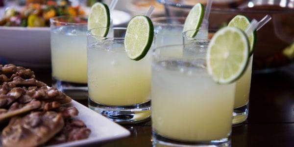 Smollett Siblings' Ginger Ale Margarita