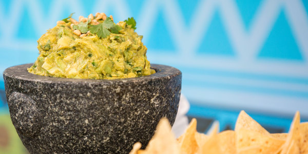 Spicy Chipotle Guacamole
