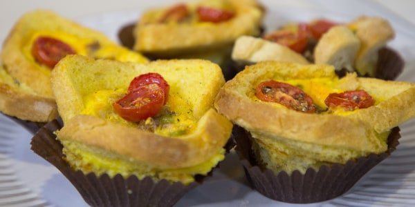 Breakfast Casserole Cupcakes