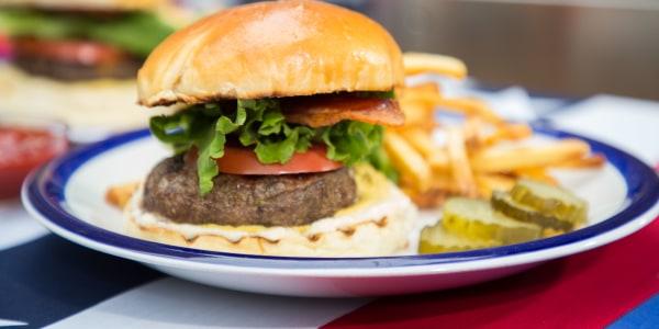 Cheese-Stuffed Short-Rib Burgers