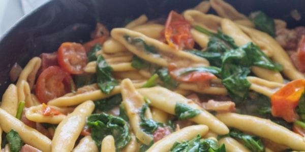 Giada's Pancetta and Gorgonzola Cavatelli