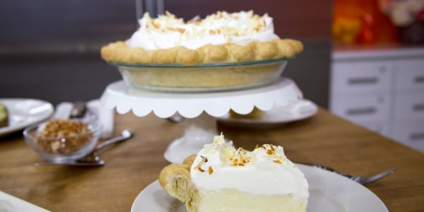 Triple Coconut White Chocolate Cream Pie