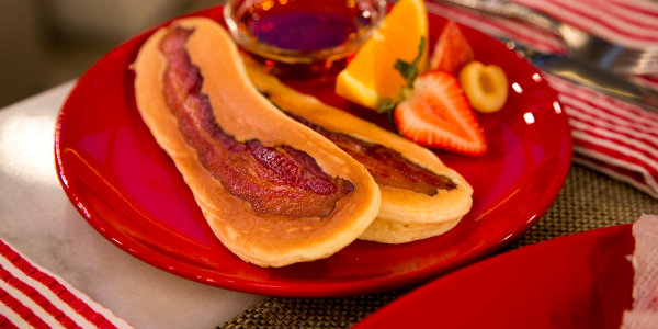 Bacon and Pancake Soldiers