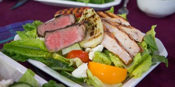 Grilled Swordfish Steaks