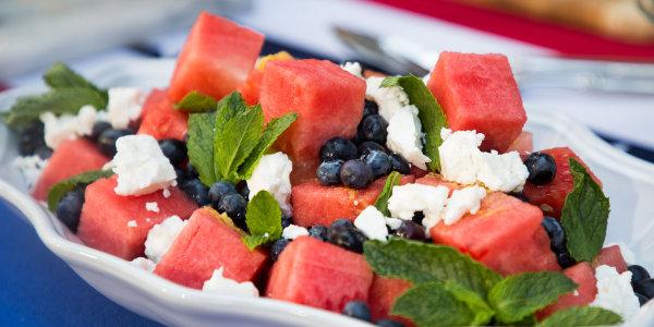 Siri Daly's Watermelon, Blueberry and Feta Salad