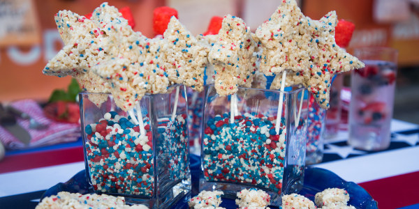 Siri Daly's Rice Cereal Star Pops