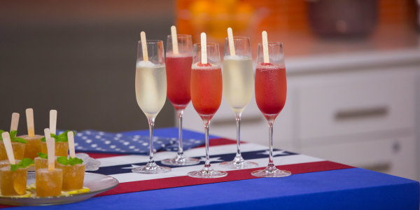 Prosecco Popsicle Cocktails