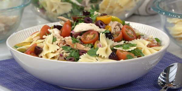 Pasta Salad with Rotisserie Chicken