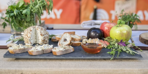Lavender Goat Cheese Ball