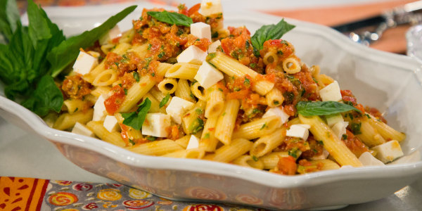 Giada's penne with checca sauce