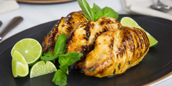 Lime-Basil Chicken