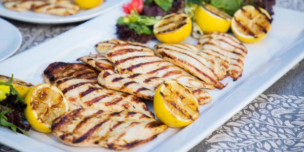 Lemon Chicken Paillard
