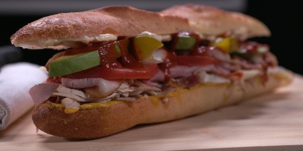 Chong's 'Prison Special' Sandwich