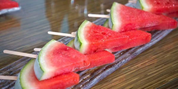Boozy Watermelon Popsicles