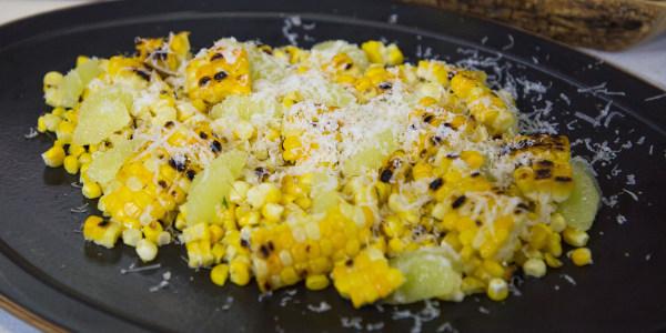 Grilled Corn (Maíz Rustido)
