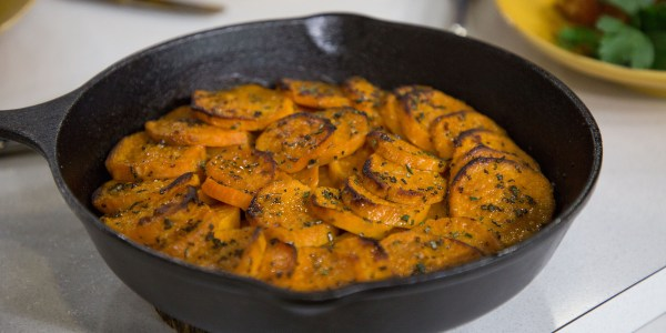 Crispy Sweet Potato Bake