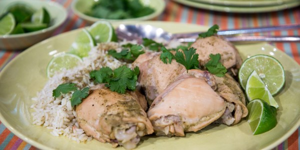 Martha Stewart's Cilantro Chicken and Rice