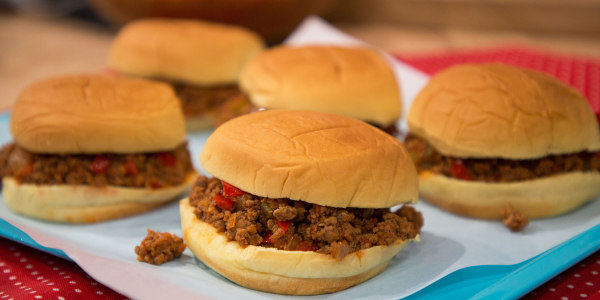 Martha Stewart's Pressure-Cooker Sloppy Joes