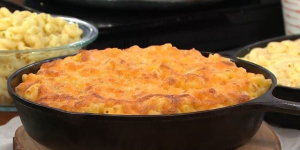 Iron-Skillet Macaroni And Cheese