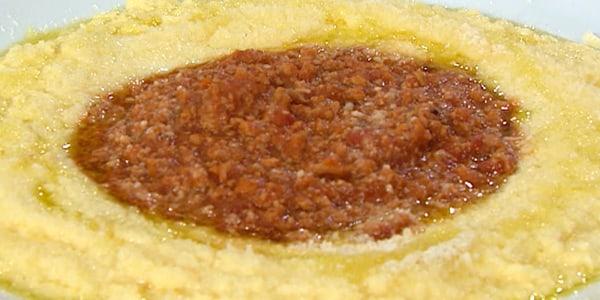 Anthony Scotto's rich and creamy polenta