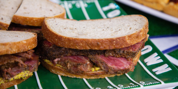 Slow-Cooker Pastrami Sandwiches