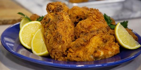 Smoky Tea-Brined Fried Chicken