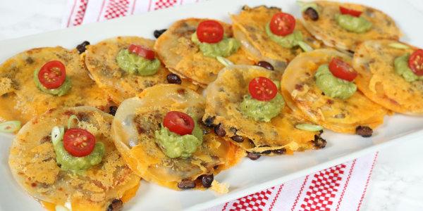 Easy Mini Veggie Quesadillas