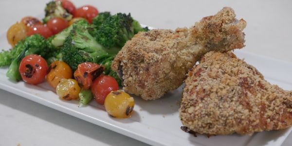 Joy Bauer's Baked 'Fried' Chicken