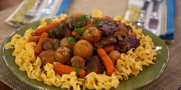 Siri Daly's Slow-Cooker Beef Bourguignon