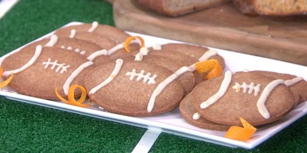 Giada's Walnut Football Cookies