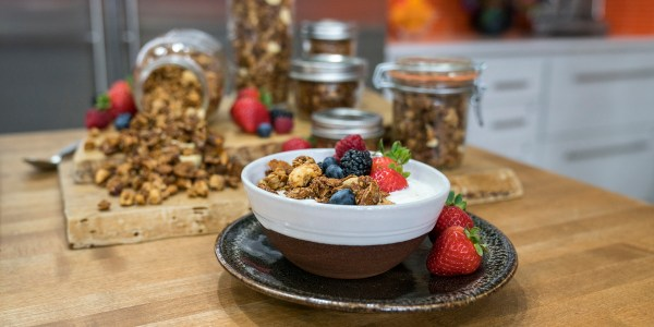 Homemade Gluten-Free Granola