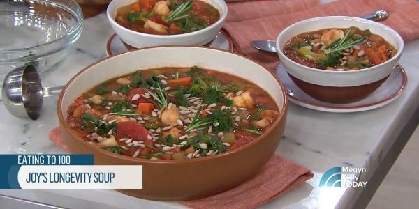 Joy Bauer's Longevity Soup