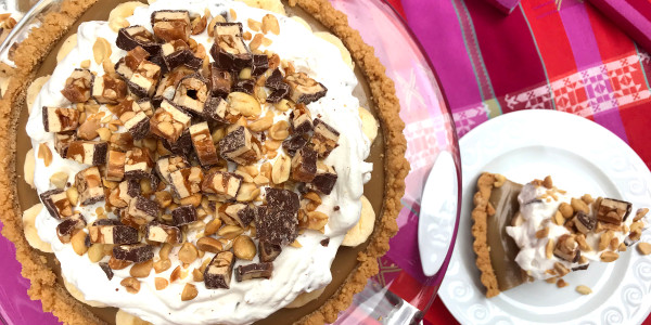 Snickers Banoffee Pie