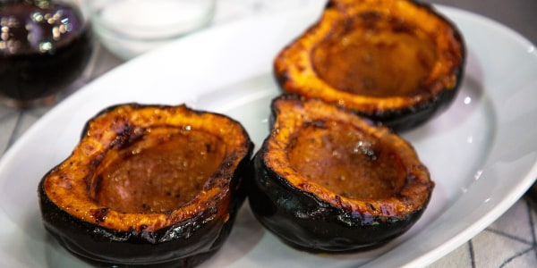 Ina Garten's Maple-Roasted Acorn Squash