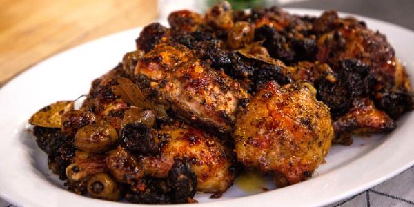 Ina Garten's Chicken Marbella