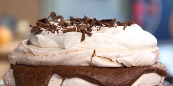 Ina Garten's Chocolate Pecan Meringue Torte