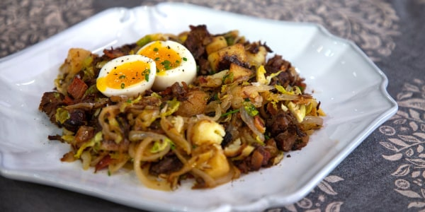 Ina Garten's Short Rib Hash and Eggs