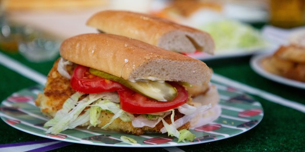 Siri's Fried Walleye Sandwich with Tartar Sauce