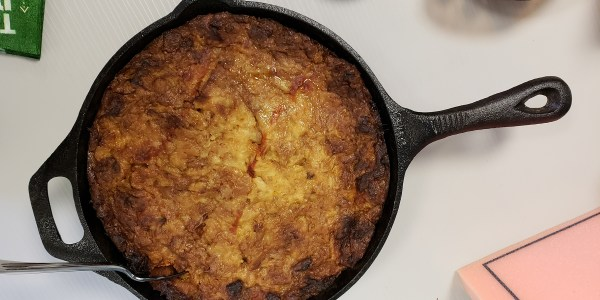Pulled Pork Bread Pudding