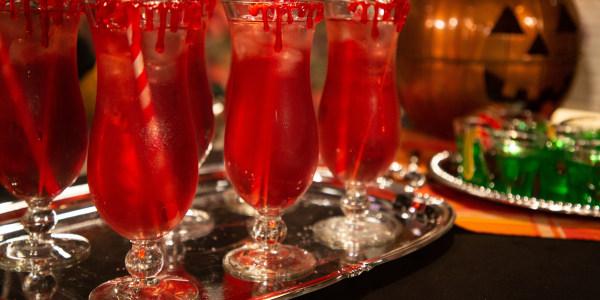 Halloween Vampire Cranberry Cocktail